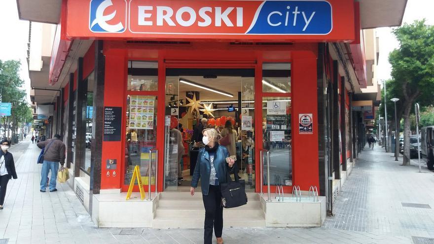 Eroski inaugura en Palma un nuevo supermercado franquiciado