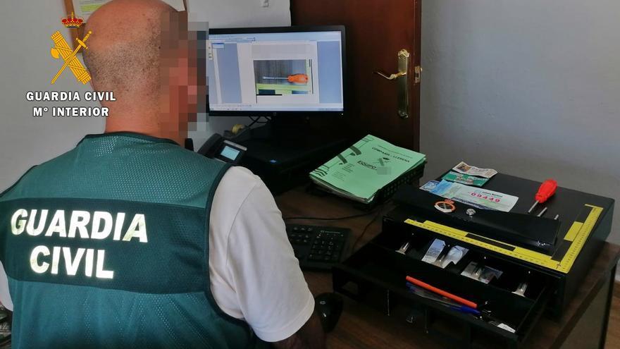 Detenido un vecino de Llerena acusado de tres robos en establecimientos de la localidad