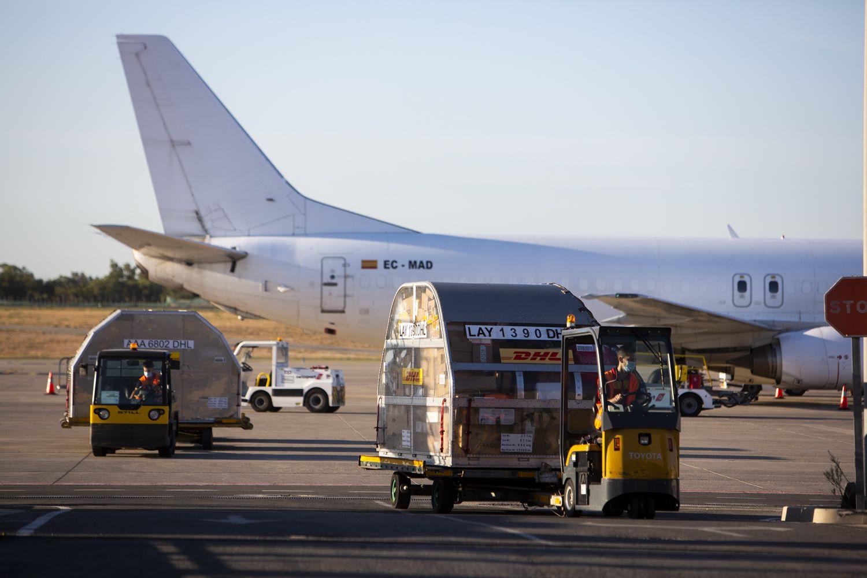 Así funciona el «otro aeropuerto» de Alicante-Elche