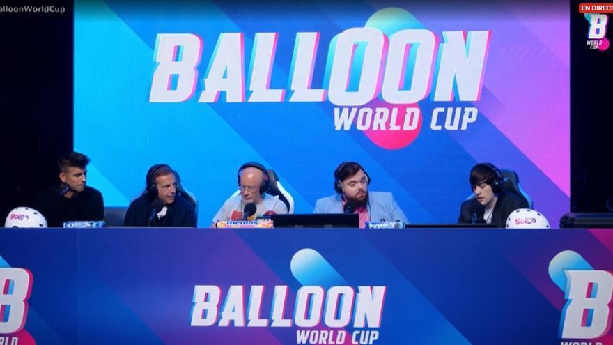 Ibai Llanos y Piqué reúnen a más de 600.000 espectadores en el Balloon World Cup