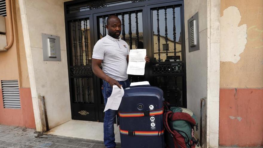 Será desahuciado en València aunque paga el alquiler al no afrontar el dueño la hipoteca