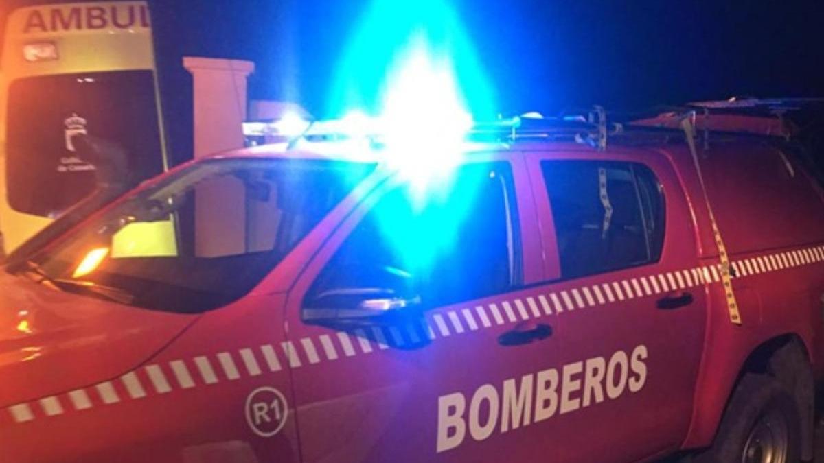 Una senderista sufre un accidente en Lanzarote