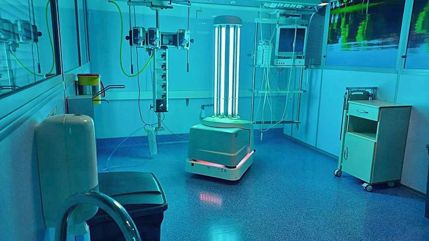 Nuevo sistema de desinfección en la sanidad pública de la Costa