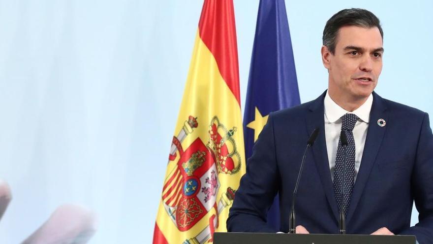 """Sánchez destaca que la aprobación de los PGE es una paso a """"un nuevo rumbo"""""""
