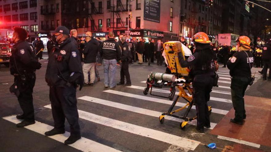 Un atropello en una protesta de 'Black Lives Matter' deja seis heridos en EEUU