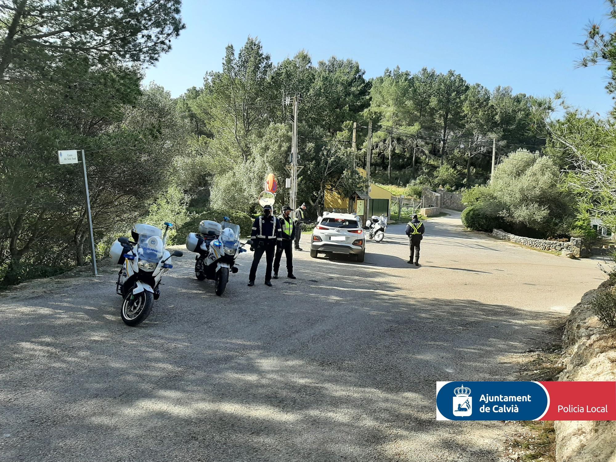 Desalojan una fiesta ilegal con 35 personas en Calvià