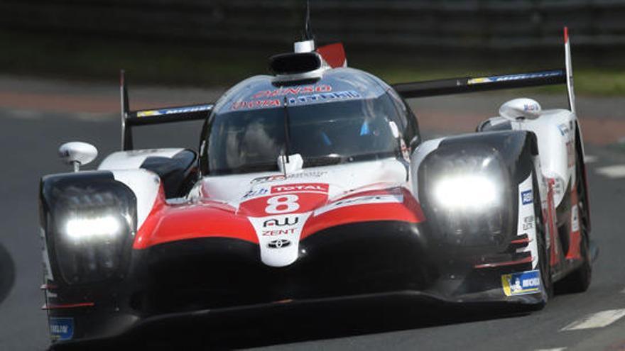 El Toyota de Alonso, mejor tiempo en la primera sesión de clasificación de las 24 Horas de Le Mans