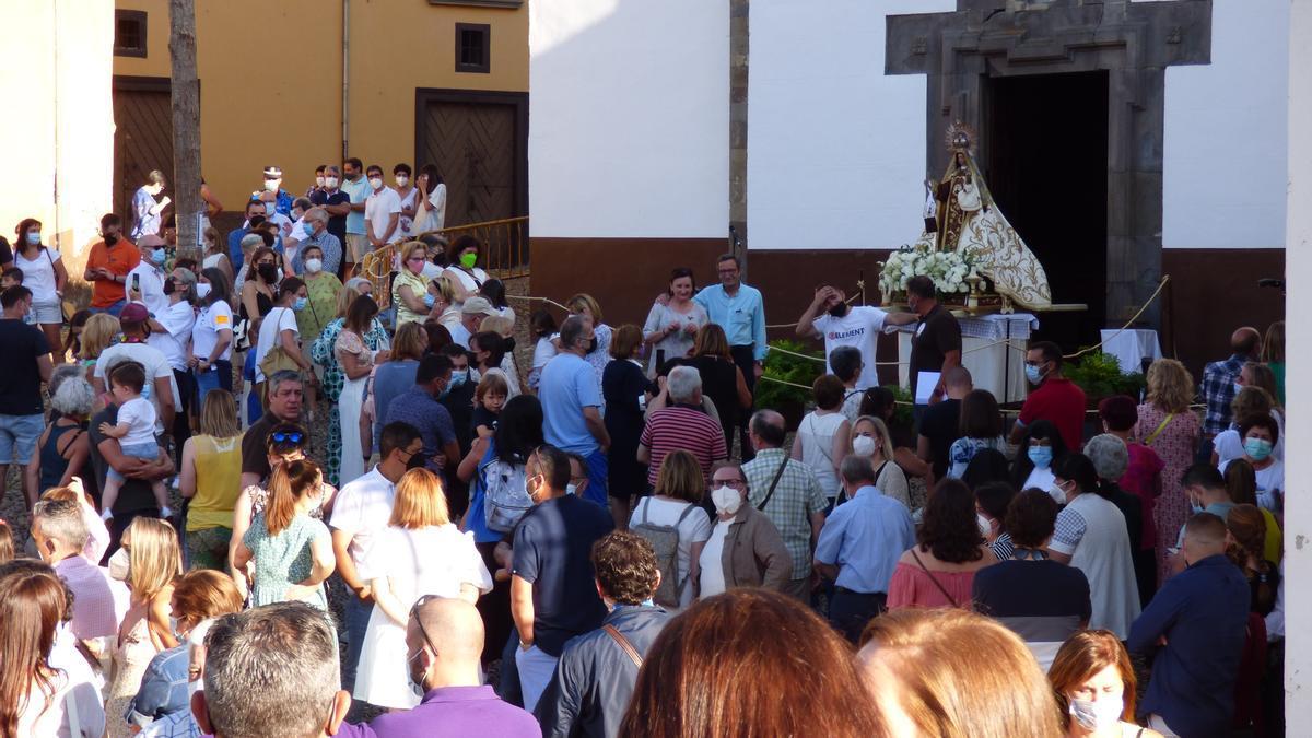 Celebración del Carmen en Cangas del Narcea