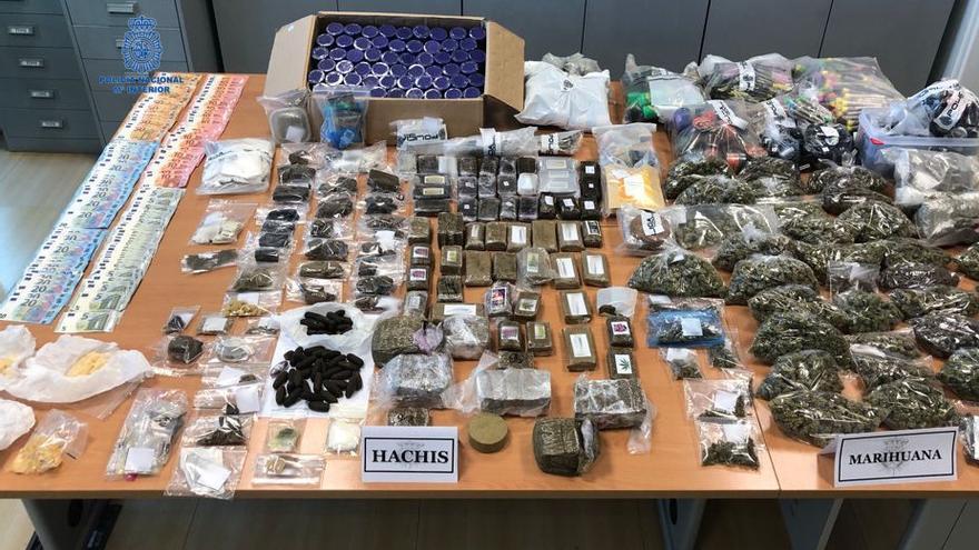 Desmantelado en Ibiza un club de cannabis donde se vendía droga