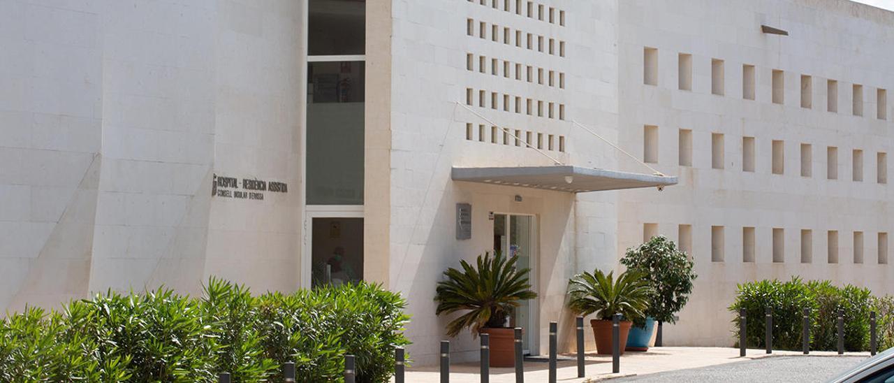 Fachada del Hospital Residencia Asistida Cas Serres.