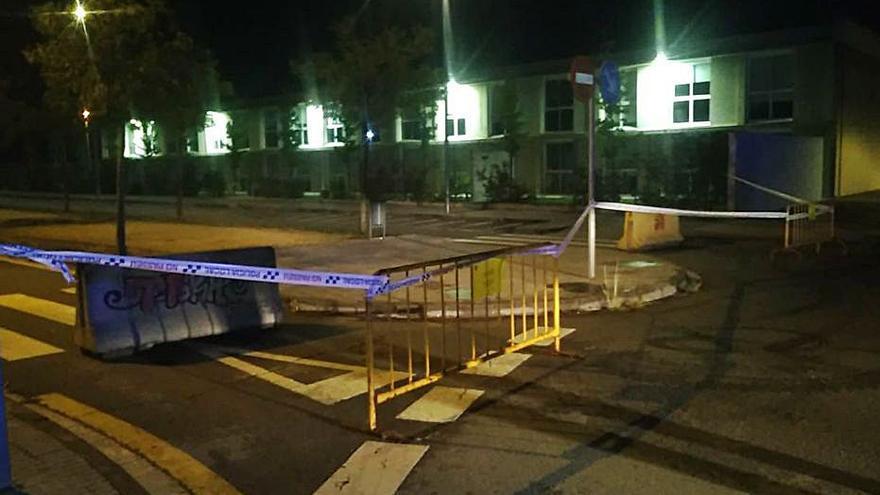 Vidreres tanca carrers durant les nits per evitar «botellons»