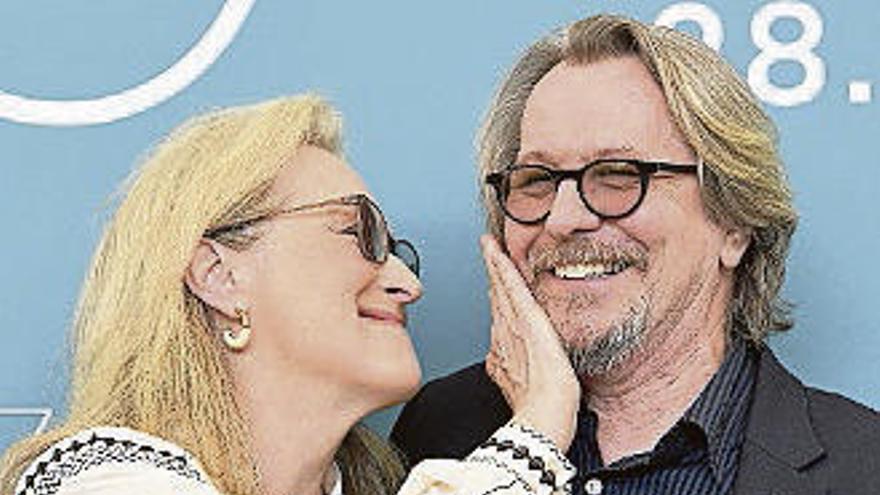 Meryl Streep y Steven Soderbergh, contra la evasión fiscal en la Mostra