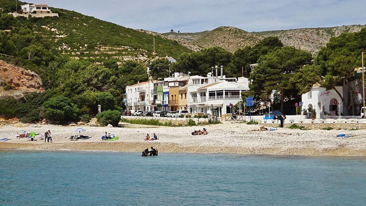 Habitatges i negocis d'hostaleria a la Cala Granadella de Xàbia | CARLOS LÓPEZ