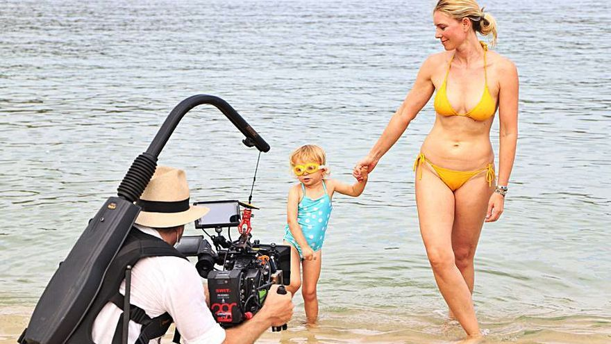 Sandra Seeling inicia en Sóller el rodaje de la película autobiográfica 'La isla'