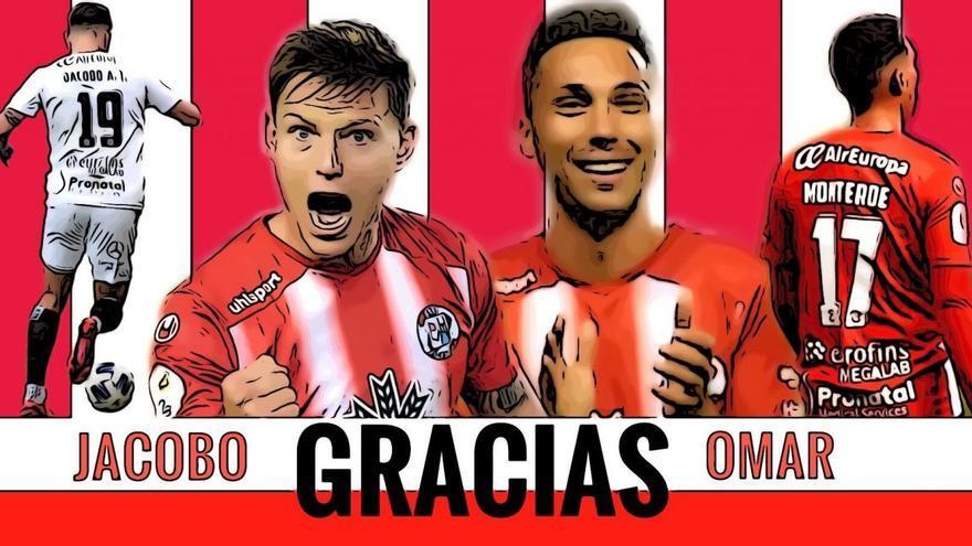 El Zamora CF prescinde de Jacobo Alcalde y Omar Monterde