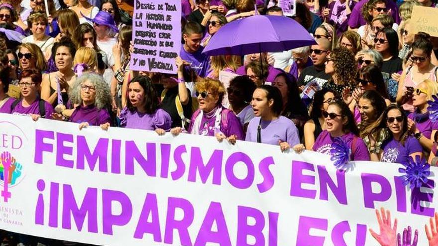 8M - Día Internacional de la Mujer | La manifestación feminista toma Las Palmas de Gran Canaria