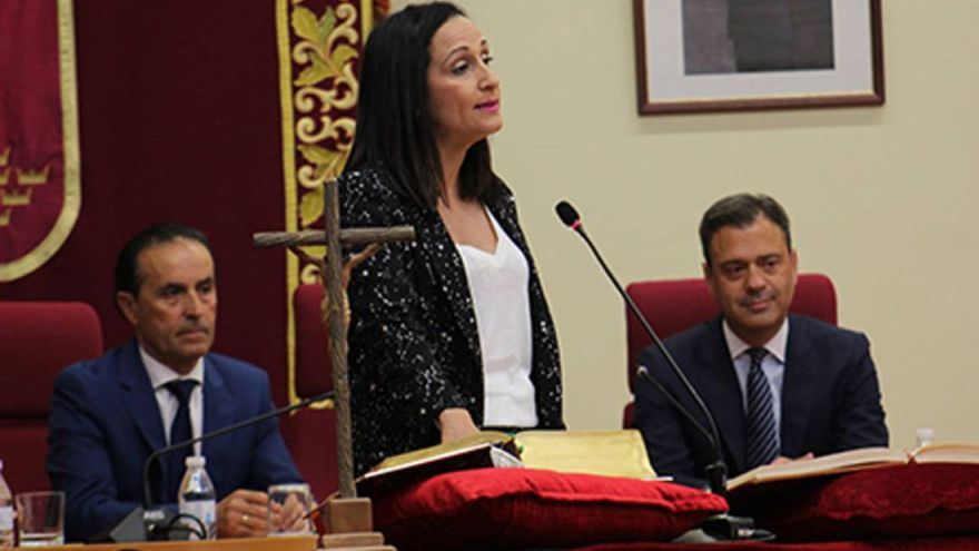 Remedios Lajara ha sido elegida alcaldesa de Yecla