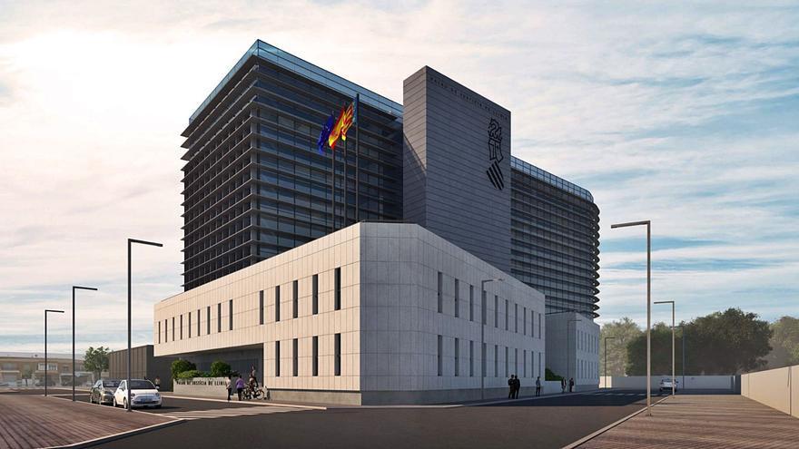 El Palacio de Justicia de Llíria estará en 2023 después de 15 años de espera