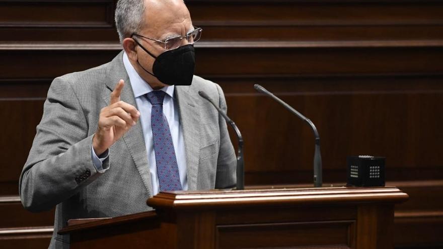 """Curbelo apela al diálogo para salvar las """"desavenencias"""" con el Estado tras vulnerar el REF"""
