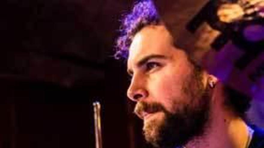 Clase magistral del baterista Miguel Lamas en el Pedro Bastarrica