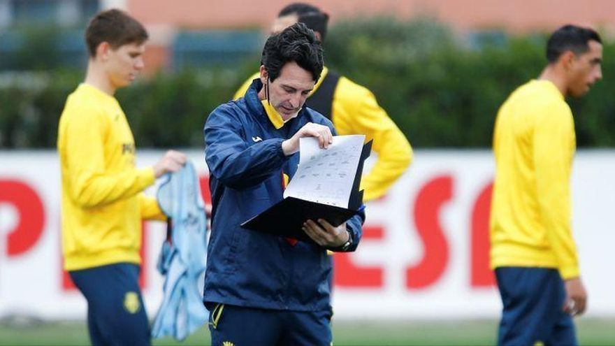 Emery cambia el chip europeo y ya prepara el partido ante Osasuna
