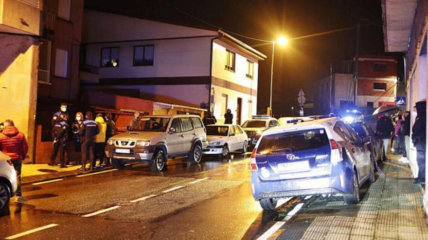 Localizan en su casa de Pontevedra el cadáver de un hombre maniatado y cubierto con una bolsa