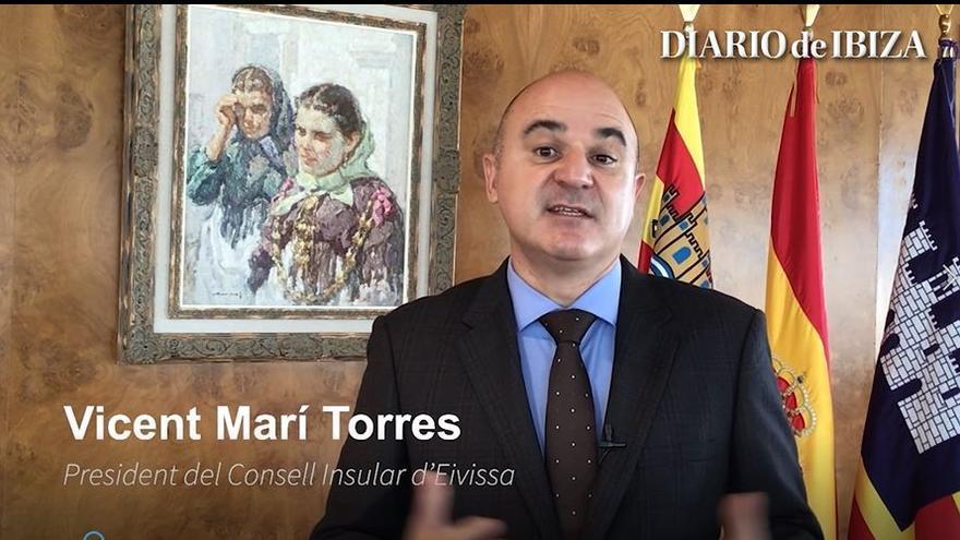 "Vicent Marí pide para Ibiza ""lo que le corresponde"""