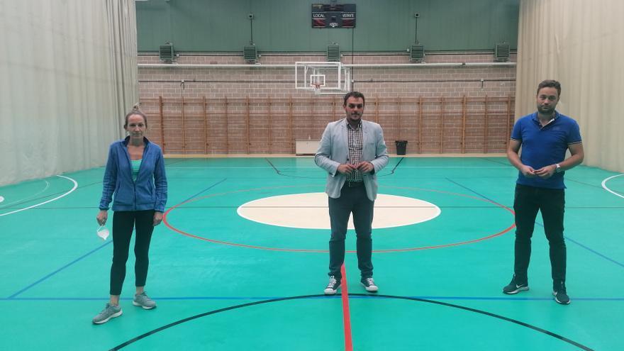 Toro invierte cerca de 15.000 euros en la mejora del pabellón de deportes