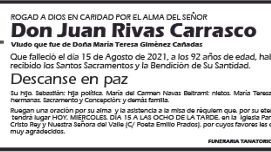 Juan Rivas Carrasco