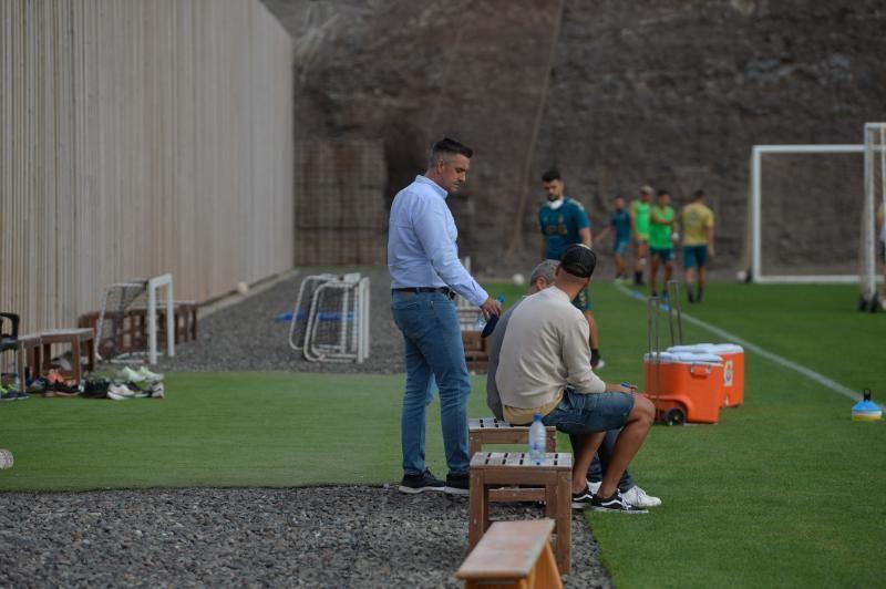 Entrenamiento de la UD Las Palmas (28/09/2021)