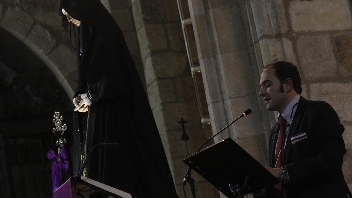 La Soledad, durante la exaltación literaria que protagonizó Vicente Díez