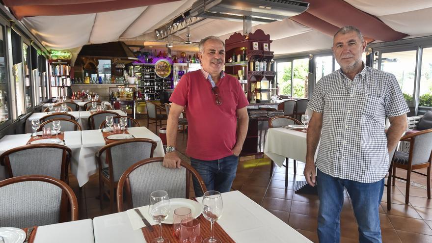 José Cerván y Juan Lozano, propietarios del restaurante Rimini