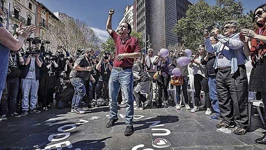 Iglesias y los 'errejonistas' abren la campaña el día 1 en Palma