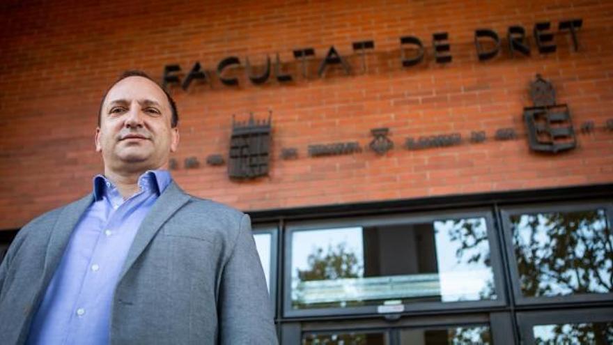 """Rubén Martínez Dalmau: """"Sería un capricho de Puig avanzar las autonómicas"""""""