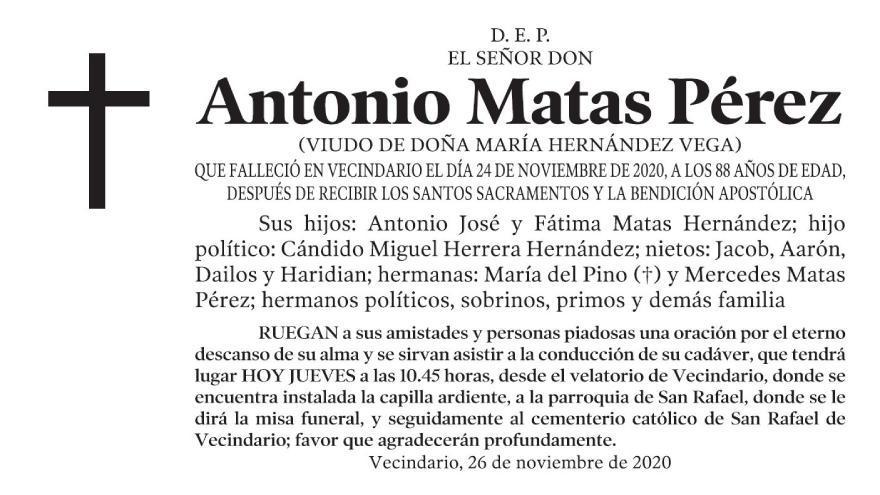 Antonio Matas Pérez