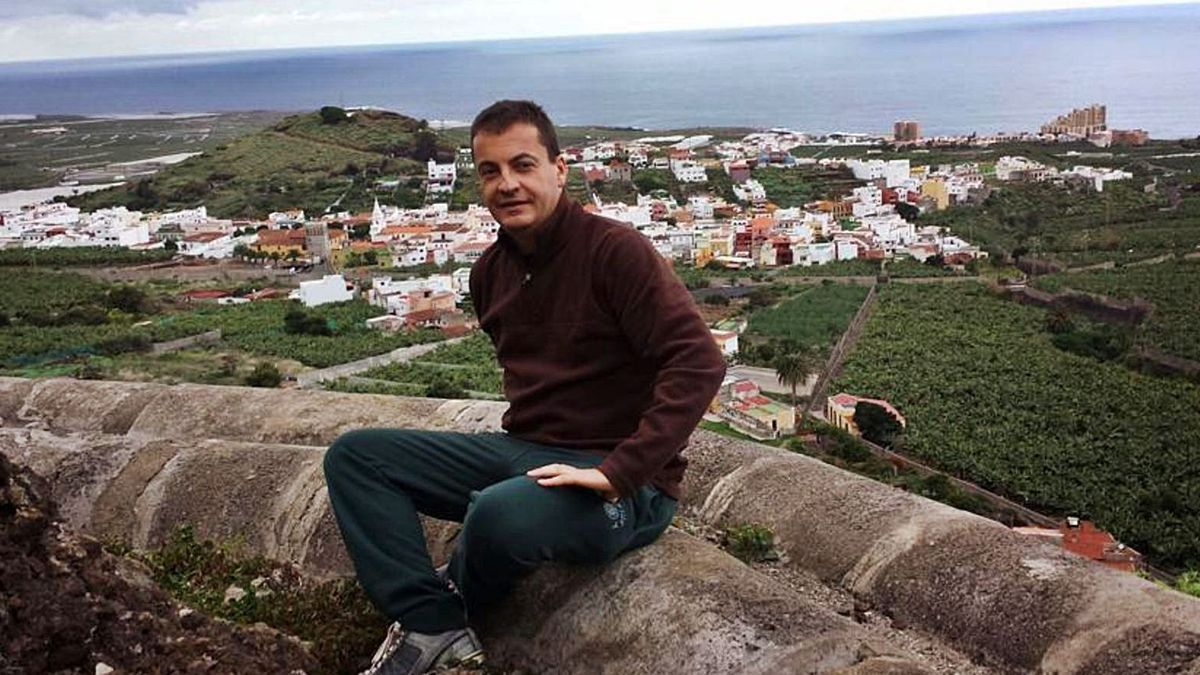 Roberto Hernández, presidente y portavoz de la Plataforma Los Silos-Isla Baja.