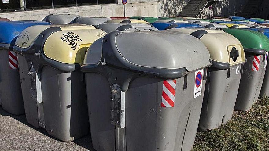 Girona retira uns cinquanta contenidors per evitar que es cremin en un acte dels CDRs