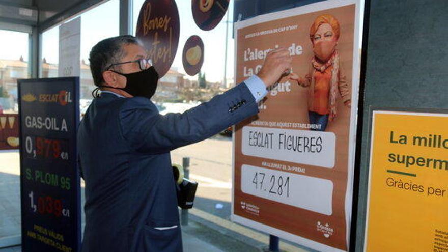 L'Esclat de Figueres reparteix 450.000 euros de la Grossa
