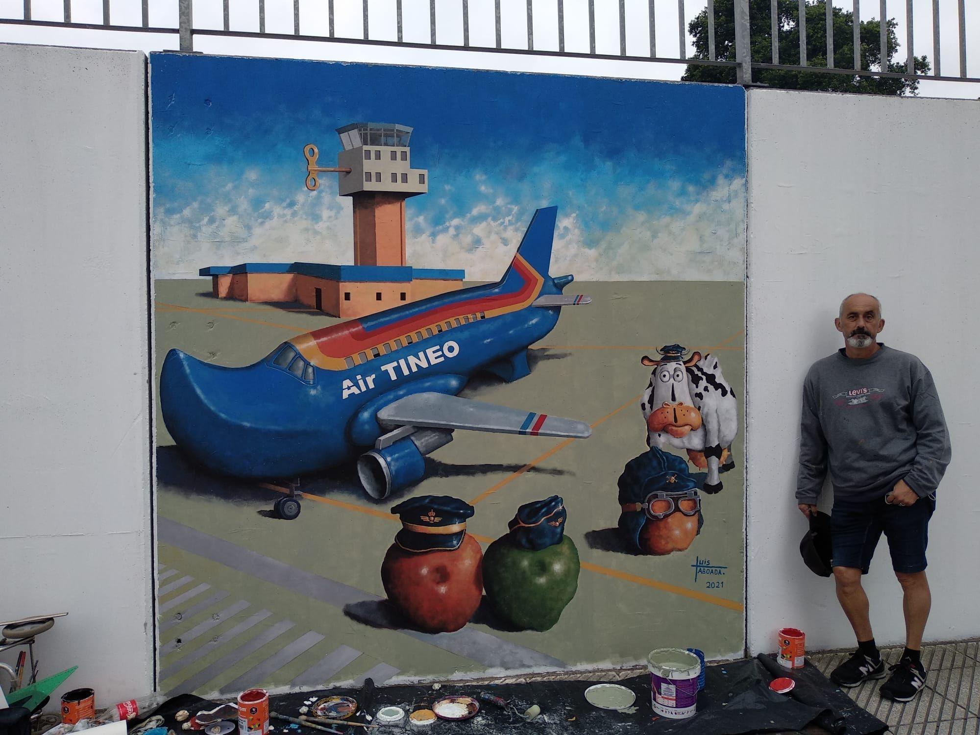 El arte mural toma las calles de Avilés