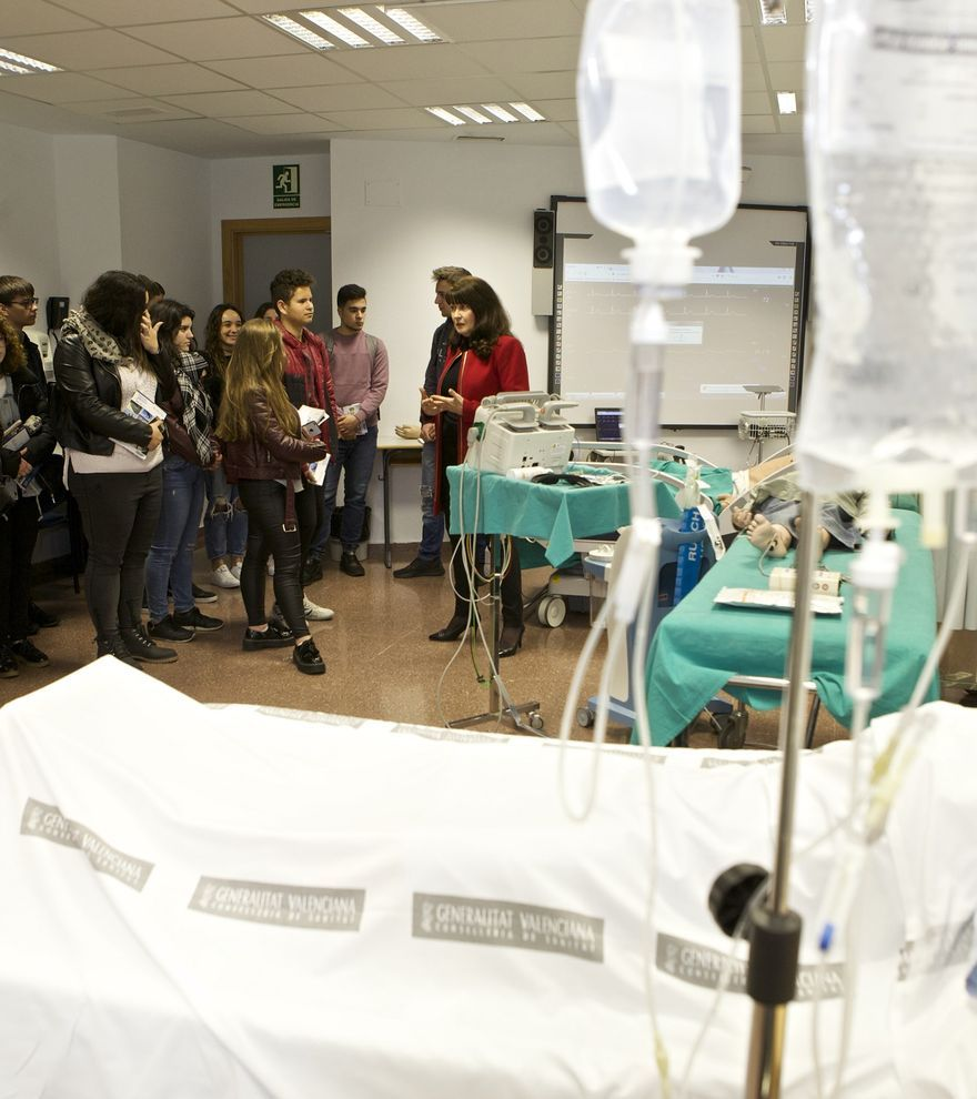 Enfermería de la UA lidera el ranking nacional de éxito en estudios universitarios