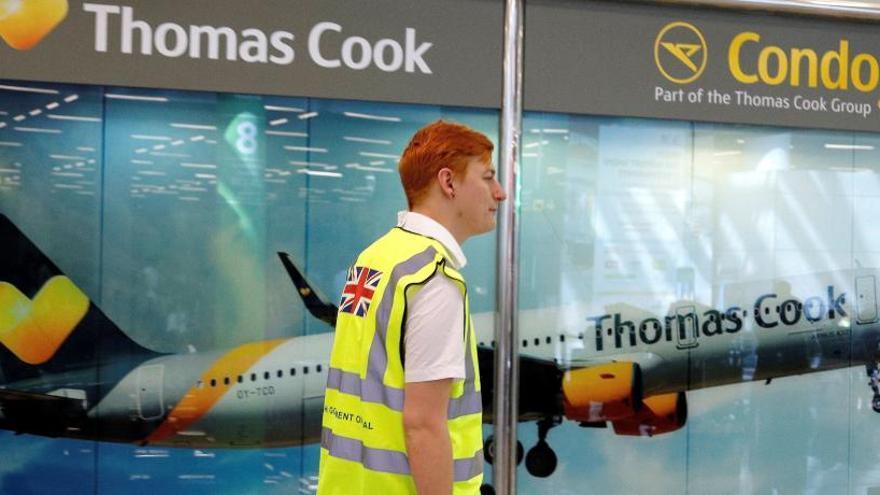 Treinta vuelos hacia o desde España han sido cancelados hoy tras la quiebra Thomas Cook
