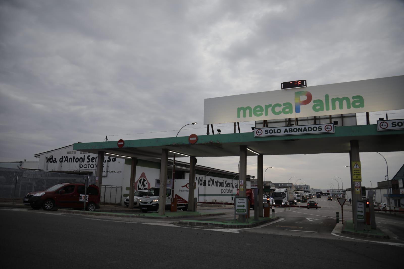 Segunda protesta de los mayoristas de Mercapalma