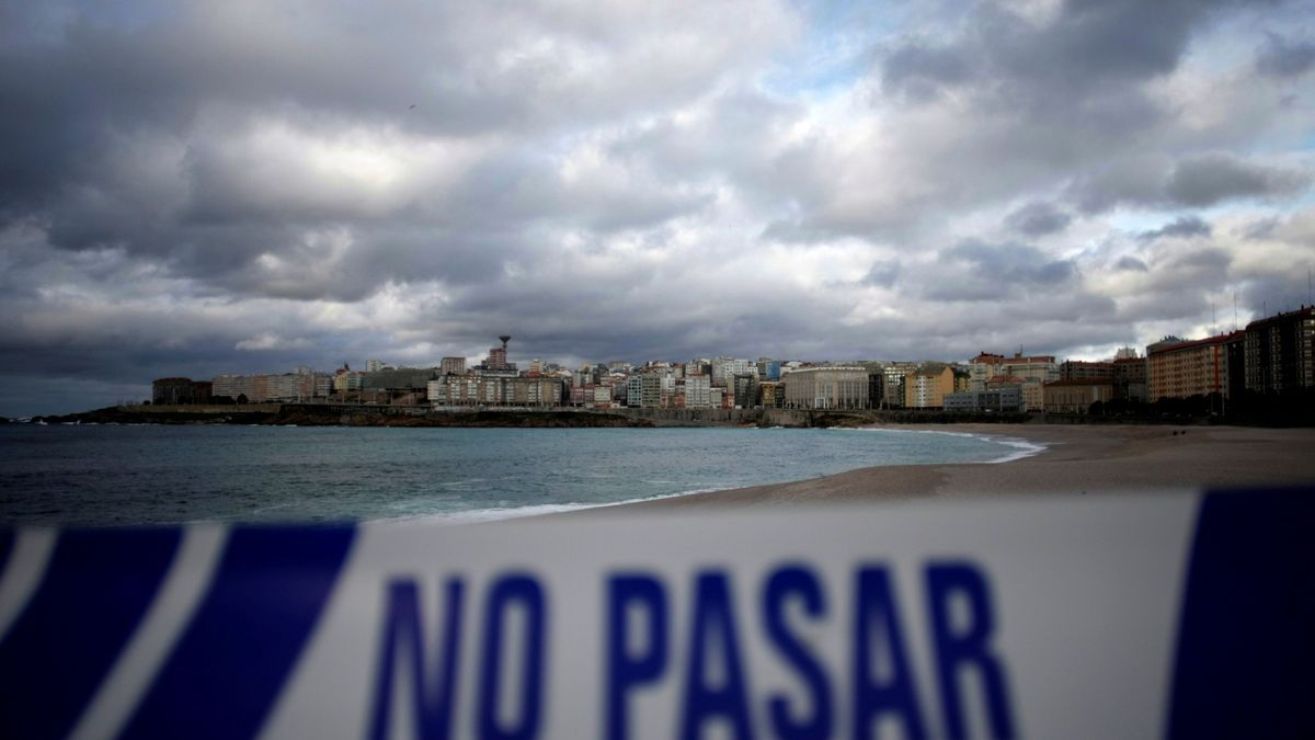 Activada para mañana la alerta roja en el litoral de A Coruña.