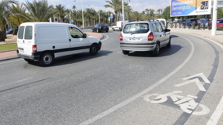 Seis avenidas de Elche informarán cada 10 minutos de las plazas de aparcamiento libres en el centro