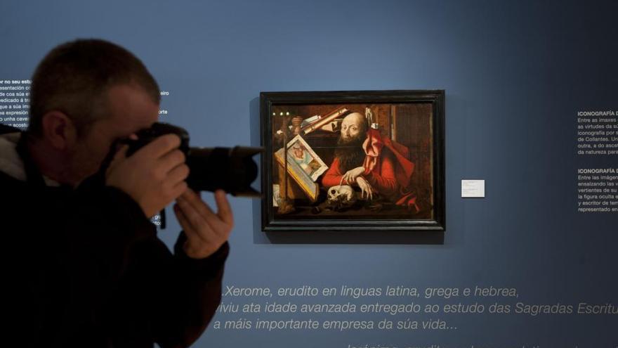 El Museo de Belas Artes expone una obra de Francisco Collantes con una imagen oculta