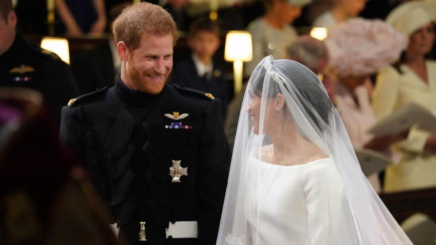 El príncipe Harry y Meghan Markle se da el 'sí quiero'