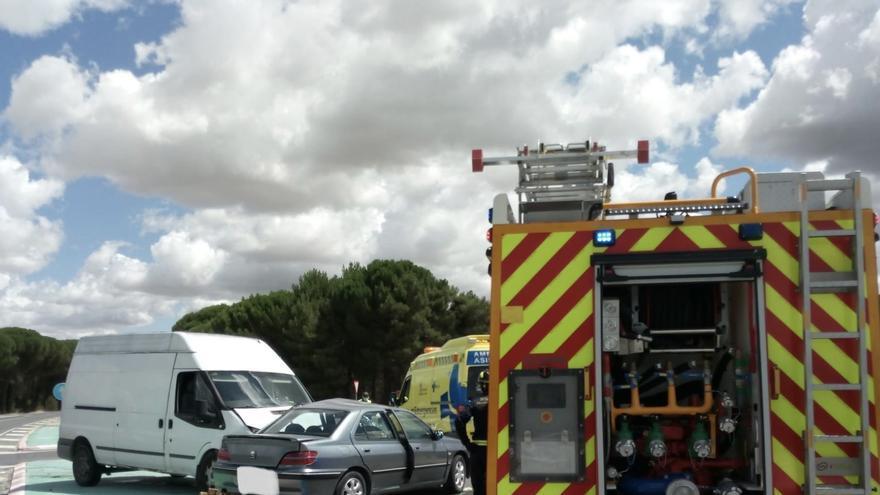 Una fallecida y dos heridos en un accidente en Valladolid