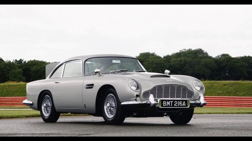 Aston Martin lanza 25 unidades del DB5 de James Bond