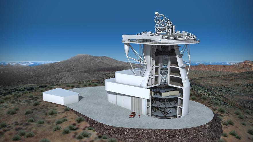Luz verde a la construcción en La Palma del Telescopio Solar Europeo