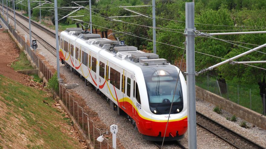 Interrumpido el servicio de tren entre Sineu y Manacor por una avería
